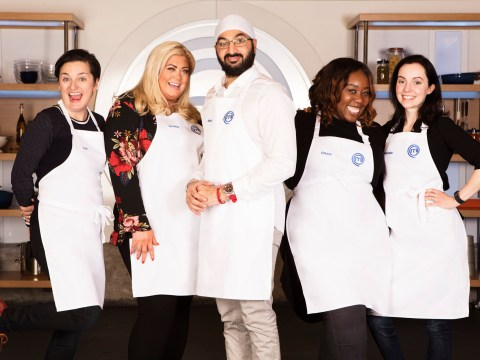 What time is Celebrity MasterChef on tonight, what celebrities are on it and who is in the semi-final so far?