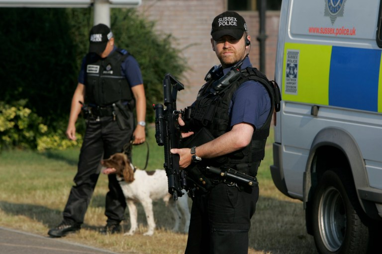 How to adopt dogs 'not brave enough' for police front line