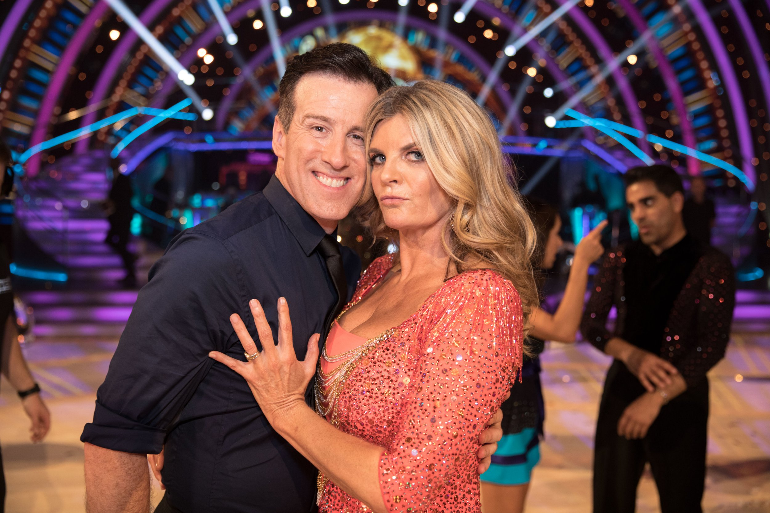 Television programme: Strictly Come Dancing For use in UK, Ireland or Benelux countries only Undated BBC handout photo of Anton Du Beke and Susannah Constantine during the return of the BBC One show, Strictly Come Dancing. PRESS ASSOCIATION Photo. Issue date: Saturday September 8, 2018. See PA story SHOWBIZ Strictly. Photo credit should read: BBC/PA Wire NOTE TO EDITORS: Not for use more than 21 days after issue. You may use this picture without charge only for the purpose of publicising or reporting on current BBC programming, personnel or other BBC output or activity within 21 days of issue. Any use after that time MUST be cleared through BBC Picture Publicity. Please credit the image to the BBC and any named photographer or independent programme maker, as described in the caption.
