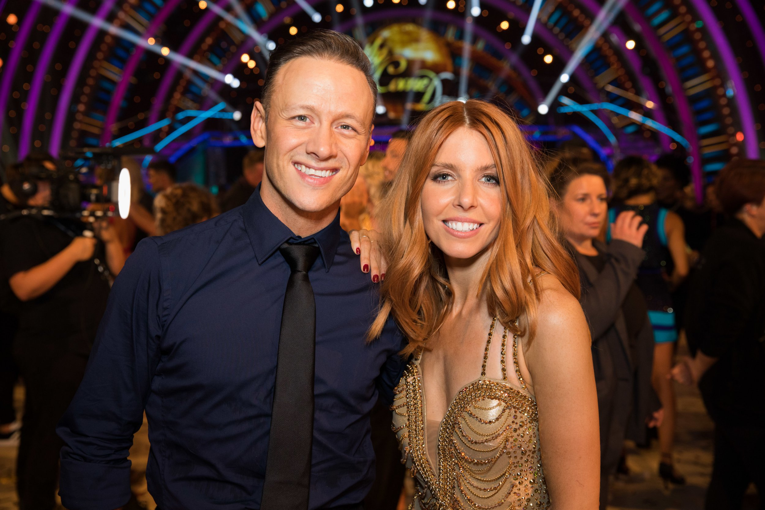 EMBARGOED TO 2100 SATURDAY SEPTEMBER 8 For use in UK, Ireland or Benelux countries only Undated BBC handout photo of Kevin Clifton and Stacey Dooley during the return of the BBC One show, Strictly Come Dancing. PRESS ASSOCIATION Photo. Issue date: Saturday September 8, 2018. See PA story SHOWBIZ Strictly. Photo credit should read: BBC/PA Wire NOTE TO EDITORS: Not for use more than 21 days after issue. You may use this picture without charge only for the purpose of publicising or reporting on current BBC programming, personnel or other BBC output or activity within 21 days of issue. Any use after that time MUST be cleared through BBC Picture Publicity. Please credit the image to the BBC and any named photographer or independent programme maker, as described in the caption.