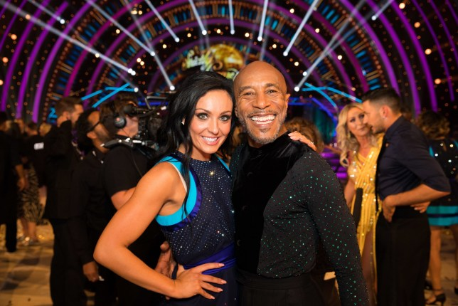 EMBARGOED TO 2100 SATURDAY SEPTEMBER 8 For use in UK, Ireland or Benelux countries only Undated BBC handout photo of Amy Dowden and Danny John-Jules during the return of the BBC One show, Strictly Come Dancing. PRESS ASSOCIATION Photo. Issue date: Saturday September 8, 2018. See PA story SHOWBIZ Strictly. Photo credit should read: BBC/PA Wire NOTE TO EDITORS: Not for use more than 21 days after issue. You may use this picture without charge only for the purpose of publicising or reporting on current BBC programming, personnel or other BBC output or activity within 21 days of issue. Any use after that time MUST be cleared through BBC Picture Publicity. Please credit the image to the BBC and any named photographer or independent programme maker, as described in the caption.