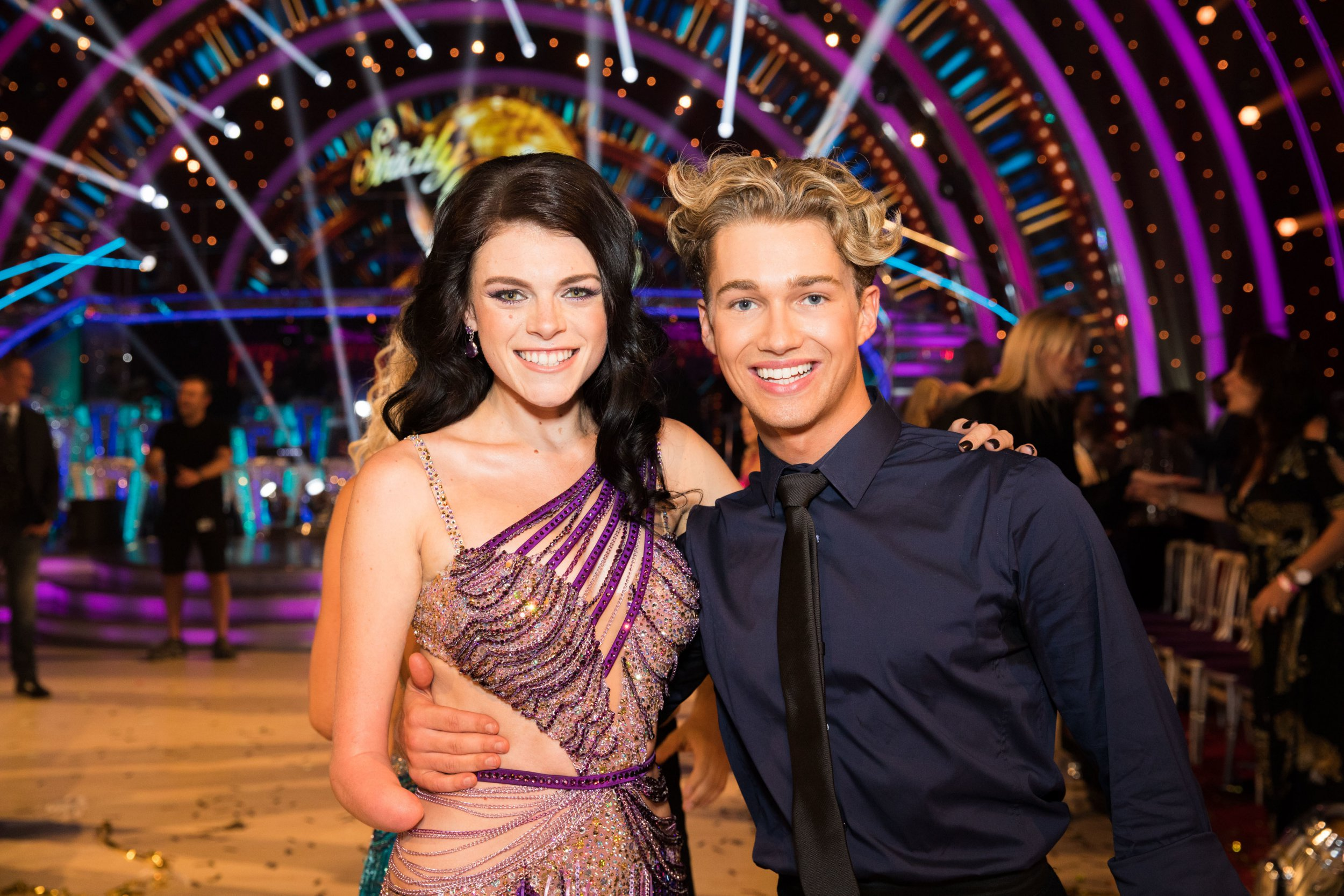 Strictly Come Dancing stars congratulate Lauren Steadman as she's crowned paratriathlon world champion