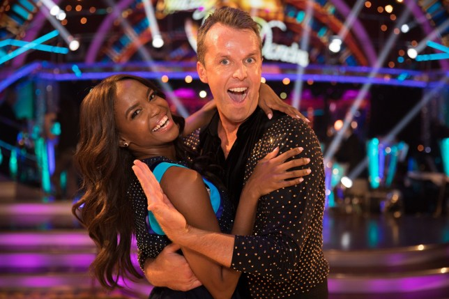 EMBARGOED TO 2100 SATURDAY SEPTEMBER 8 For use in UK, Ireland or Benelux countries only Undated BBC handout photo of Oti Mabuse and Graeme Swann during the return of the BBC One show, Strictly Come Dancing. PRESS ASSOCIATION Photo. Issue date: Saturday September 8, 2018. See PA story SHOWBIZ Strictly. Photo credit should read: BBC/PA Wire NOTE TO EDITORS: Not for use more than 21 days after issue. You may use this picture without charge only for the purpose of publicising or reporting on current BBC programming, personnel or other BBC output or activity within 21 days of issue. Any use after that time MUST be cleared through BBC Picture Publicity. Please credit the image to the BBC and any named photographer or independent programme maker, as described in the caption.