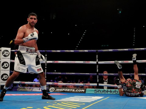Amir Khan slams Carl Froch for claiming he is only back for a paycheck