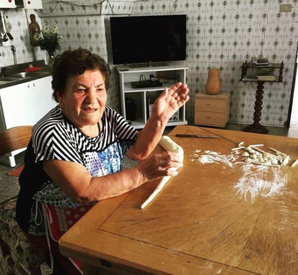 Precious Italian Pasta Grannies instagram Vicky Bennison/Pasta Grannies Instagram