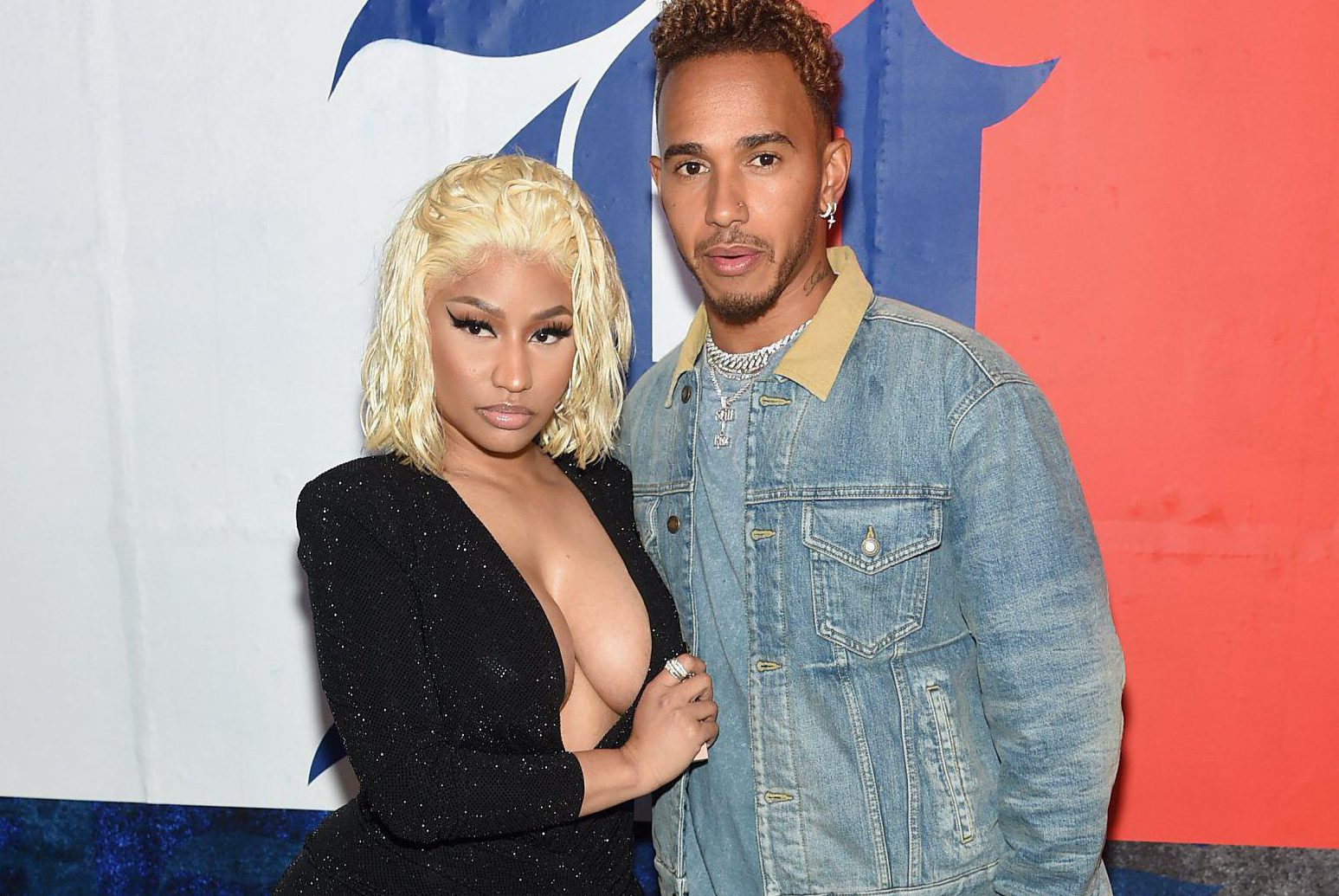 Nicki Minaj and Lewis Hamilton spark dating rumours with Instagram flirting and we're obsessed