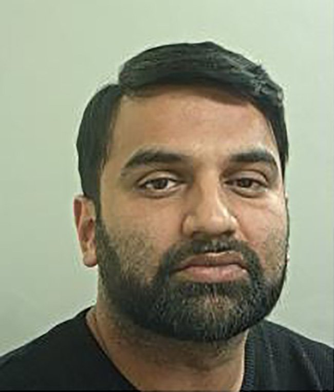 Syed Bukhari a callous conman (pictured after his hair transplant) who duped a confused old couple out of their own home by masquerading as a customer services advisor from their local bank was jailed for almost eight years. He spent some of the money in a hair transplant. Disclaimer: While Cavendish Press (Manchester) Ltd uses its' best endeavours to establish the copyright and authenticity of all pictures supplied, it accepts no liability for any damage, loss or legal action caused by the use of images supplied. The publication of images is solely at your discretion. For terms and conditions see http://www.cavendish-press.co.uk/pages/terms-and-conditions.aspx