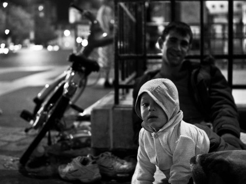 Poverty in Paris shown by photographer who says the city is more than just the Eiffel Tower