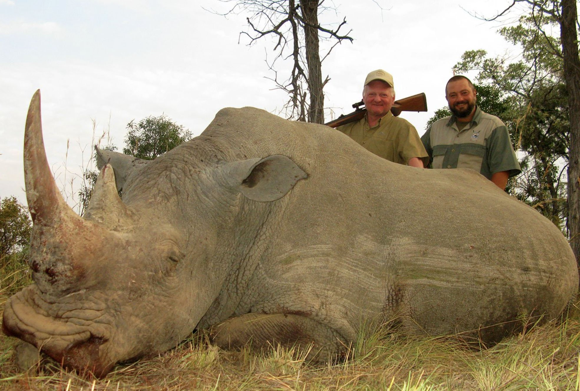 Trophy hunter makes £1,200,000 a year showing people how to kill rhinos and elephants