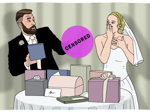 Is a sex toy an appropriate gift for a newly married couple?