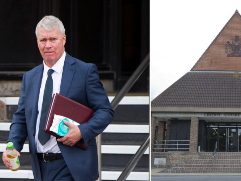 Landlord 'used step-ladder to spy on showering tenant'