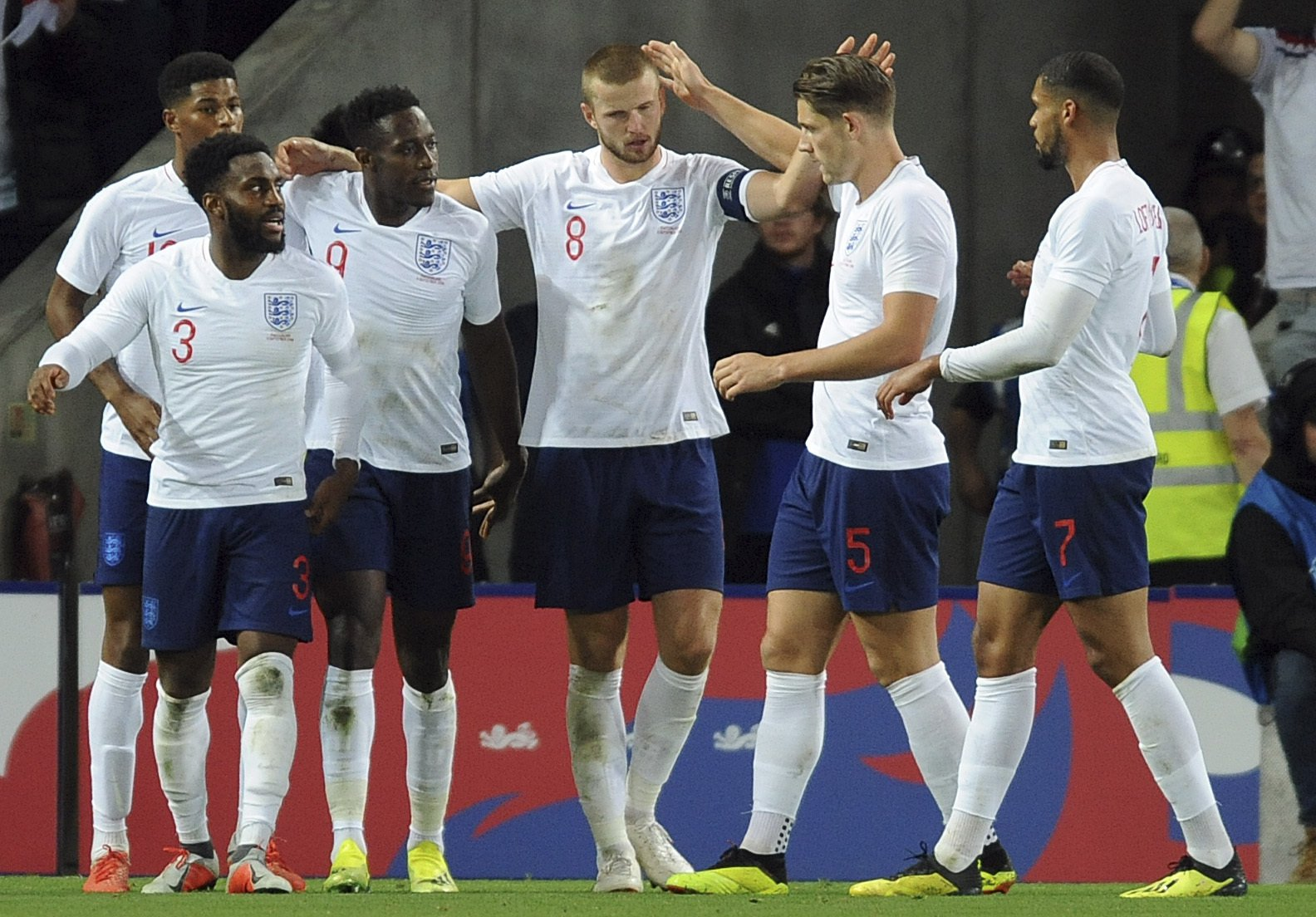 Harry Maguire and Danny Rose reveal half-time row in England dressing room vs Switzerland