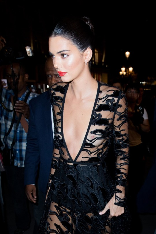 PIC: Kendall Jenner caused a minor internet storm with her
