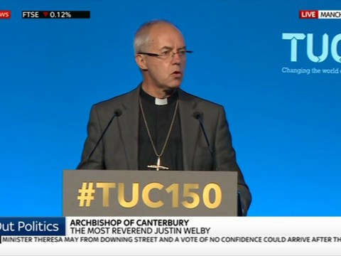 Archbishop of Canterbury says current benefits system leaves people 'worse off'