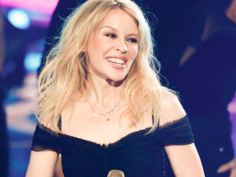 Kylie Minogue returns to stage after social media threats led to 'armed security guards'