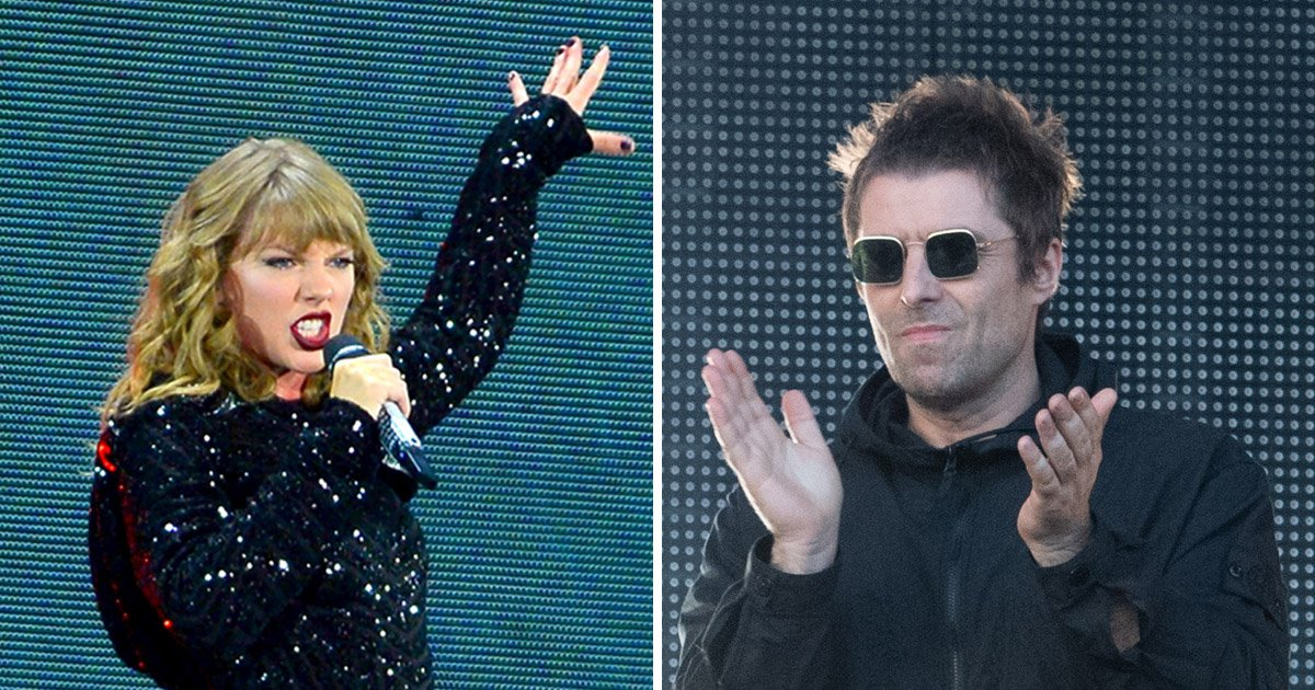 Taylor Swift to battle Liam Gallagher as pair vie for best live act at the 2018 Q Awards
