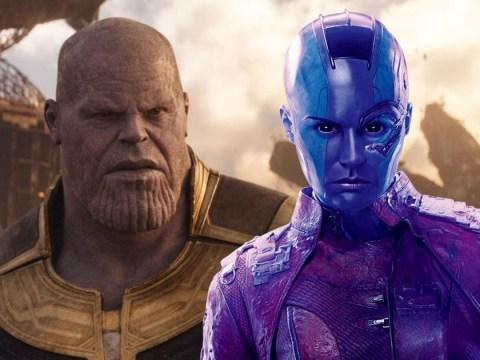 Karen Gillan teases major Avengers 4 showdown between Nebula and Thanos as reshoots begin