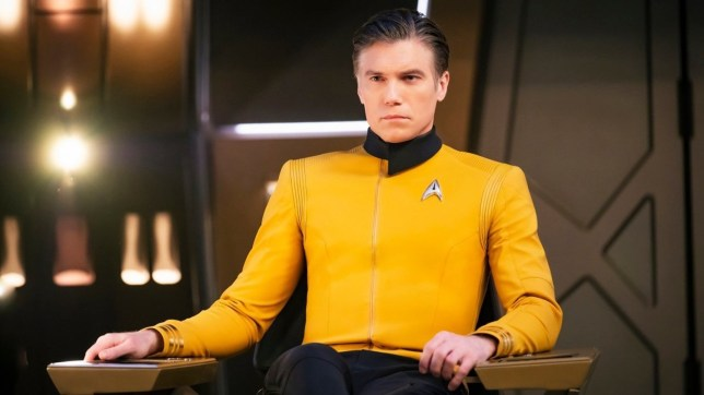 Anson Mount in Star Trek: Discovery (Picture: CBS)