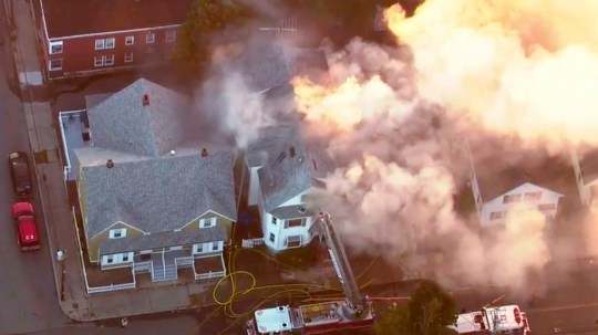 Multiple gas explosions across Boston