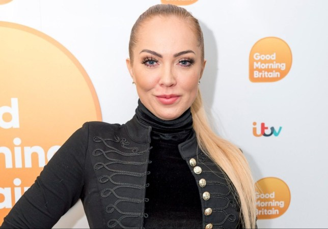 EDITORIAL USE ONLY. NO MERCHANDISING Mandatory Credit: Photo by Ken McKay/ITV/REX/Shutterstock (9375165bn) Aisleyne Horgan-Wallace 'Good Morning Britain' TV show, London, UK - 13 Feb 2018