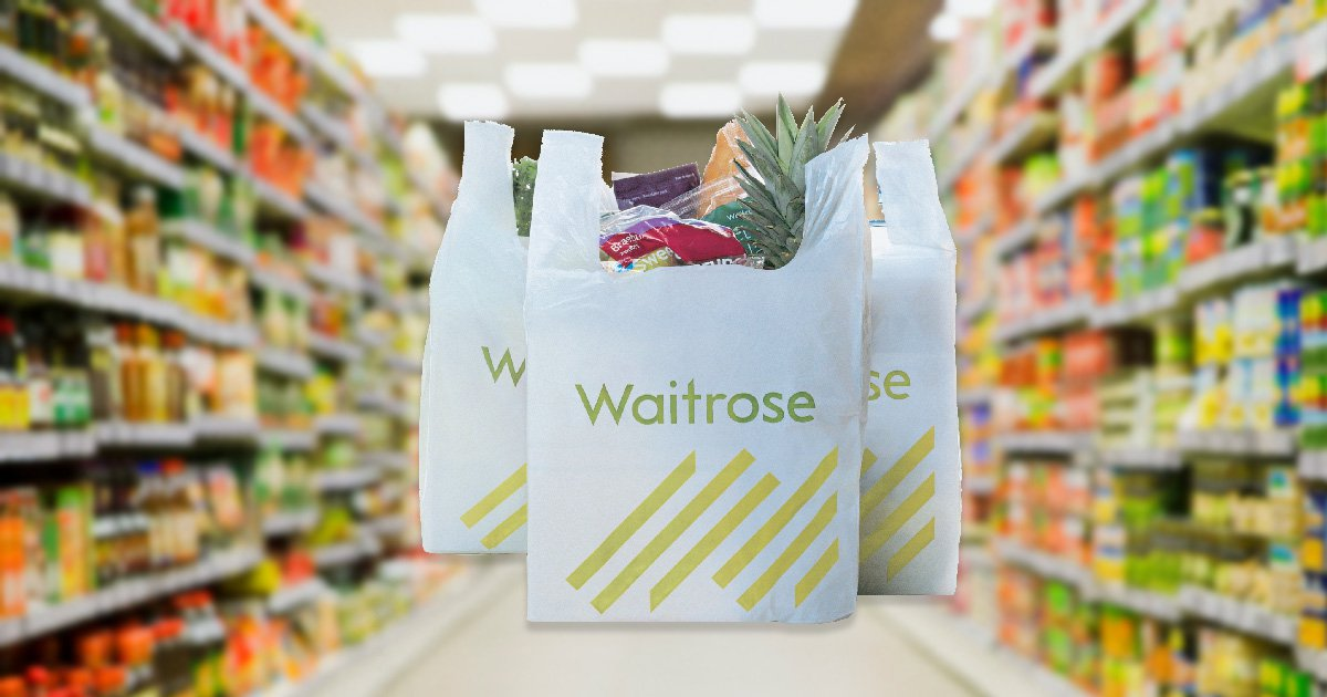 Waitrose to remove all plastic bags by March 2019