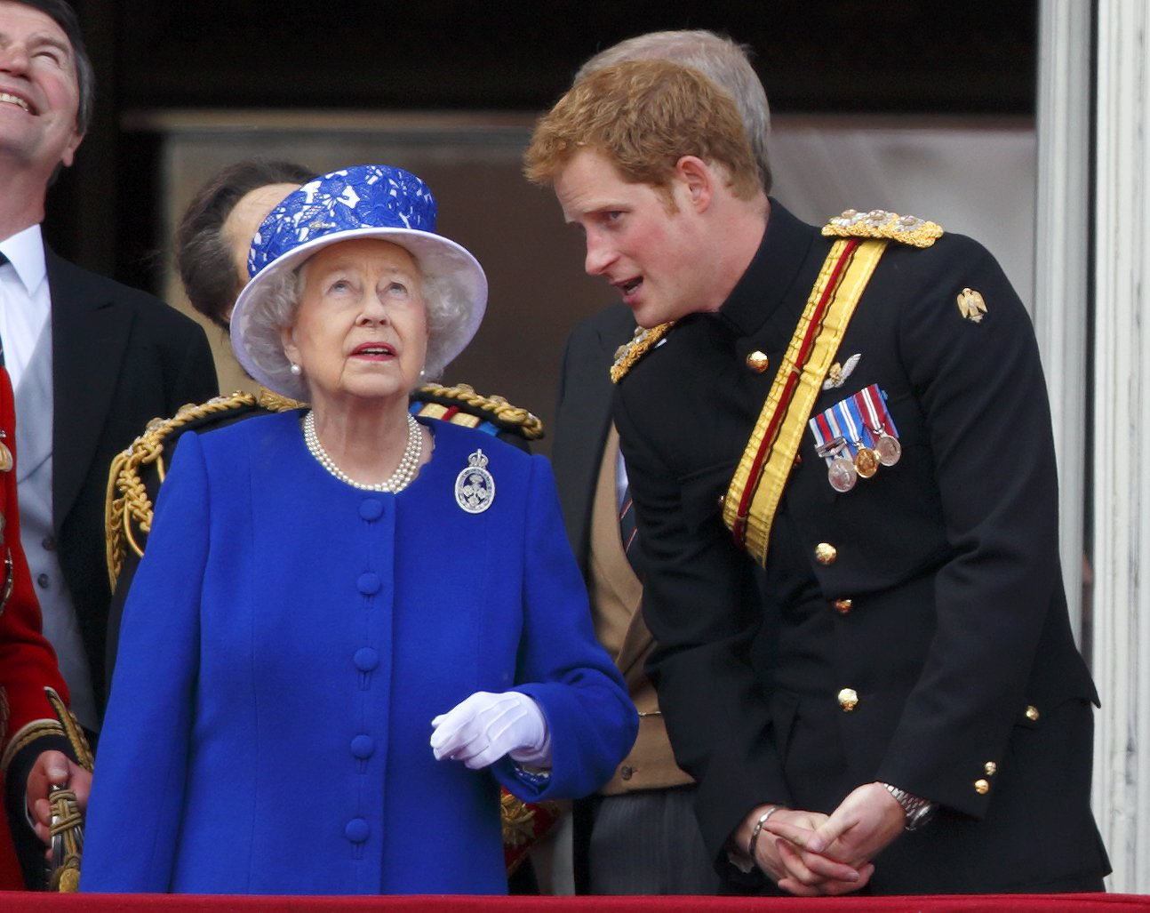 Prince Harry admits he 'panics' at sight of the Queen in Buckingham Palace