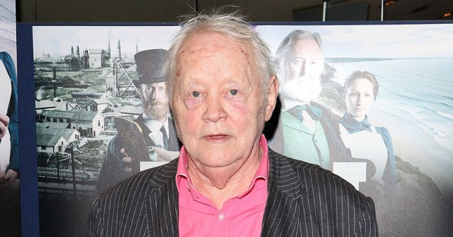 "LONDON, ENGLAND - APRIL 14: Dudley Sutton attends the London Film Premiere of ""Tin"" at the Empire Leicester Square on April 14, 2015 in London, England. (Photo by David M. Benett/WireImage)"