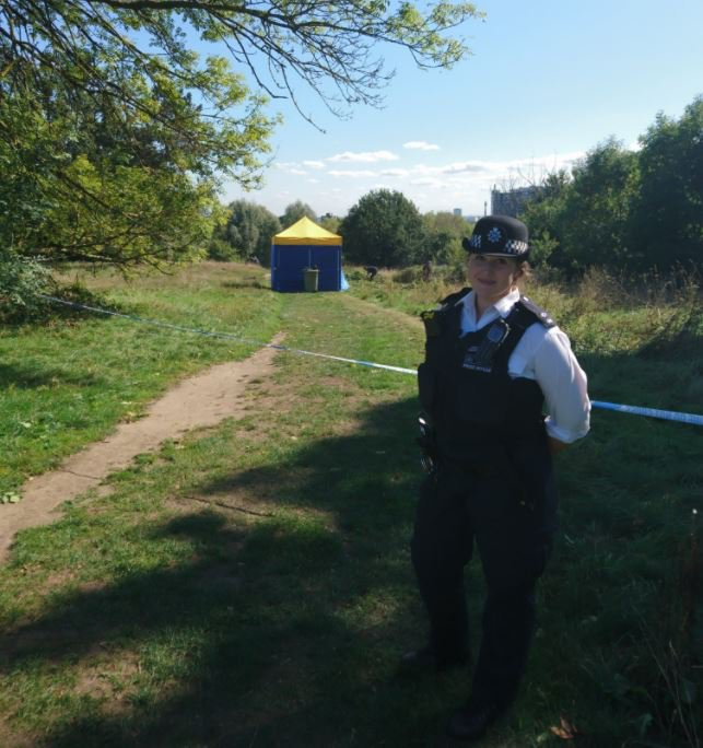 Hampstead Tn Police Hampstead officers managing the cordon on the Heath today as specialist officers are investigating chemicals items believed to be substances in the manufacture of controlled drugs. #HampsteadPolice #HampsteadHeath Credit: Twitter/MPSHampsteadTn