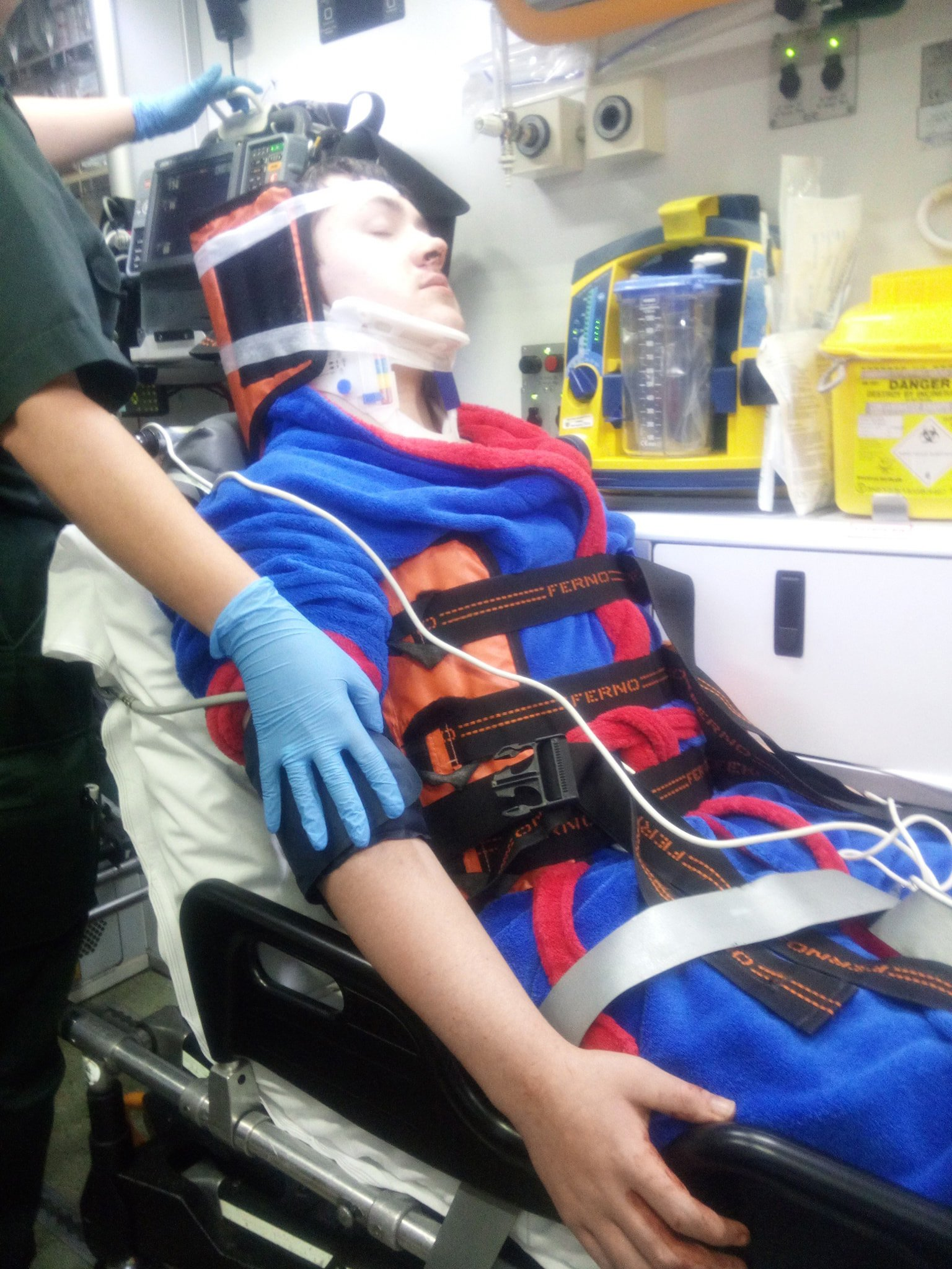 An autistic teenager was brutally attacked outside a takeaway in Tameside on his way to buy a burger. The 14-year-old ended up in hospital following the vicious assault which happened at around 9.40pm on Saturday in Denton. Caption: Police are investigating after a 14-year-old boy was attacked outside a takeaway on Ashton Road in Denton on September 15.