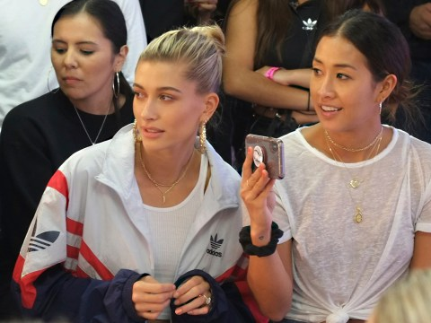 Hailey Baldwin ignores marriage rumours as she debuts London Fashion Week collection