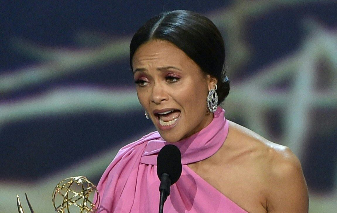 Emmys 2018: Thandie Newton drops F-bomb in hilarious winners' speech for Westworld