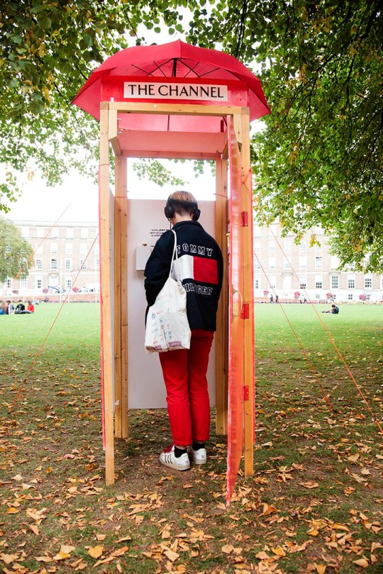 Phone Box to Detention Centres The photos were taken on Monday 18th September, College Green outside City Hall, Bristol. Photo credit Ibi Feher Photography ibolyafeher.com