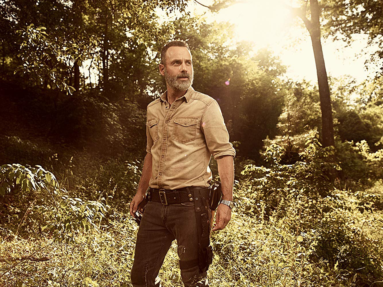 The Walking Dead could go on for another 10 years Credit: AMC