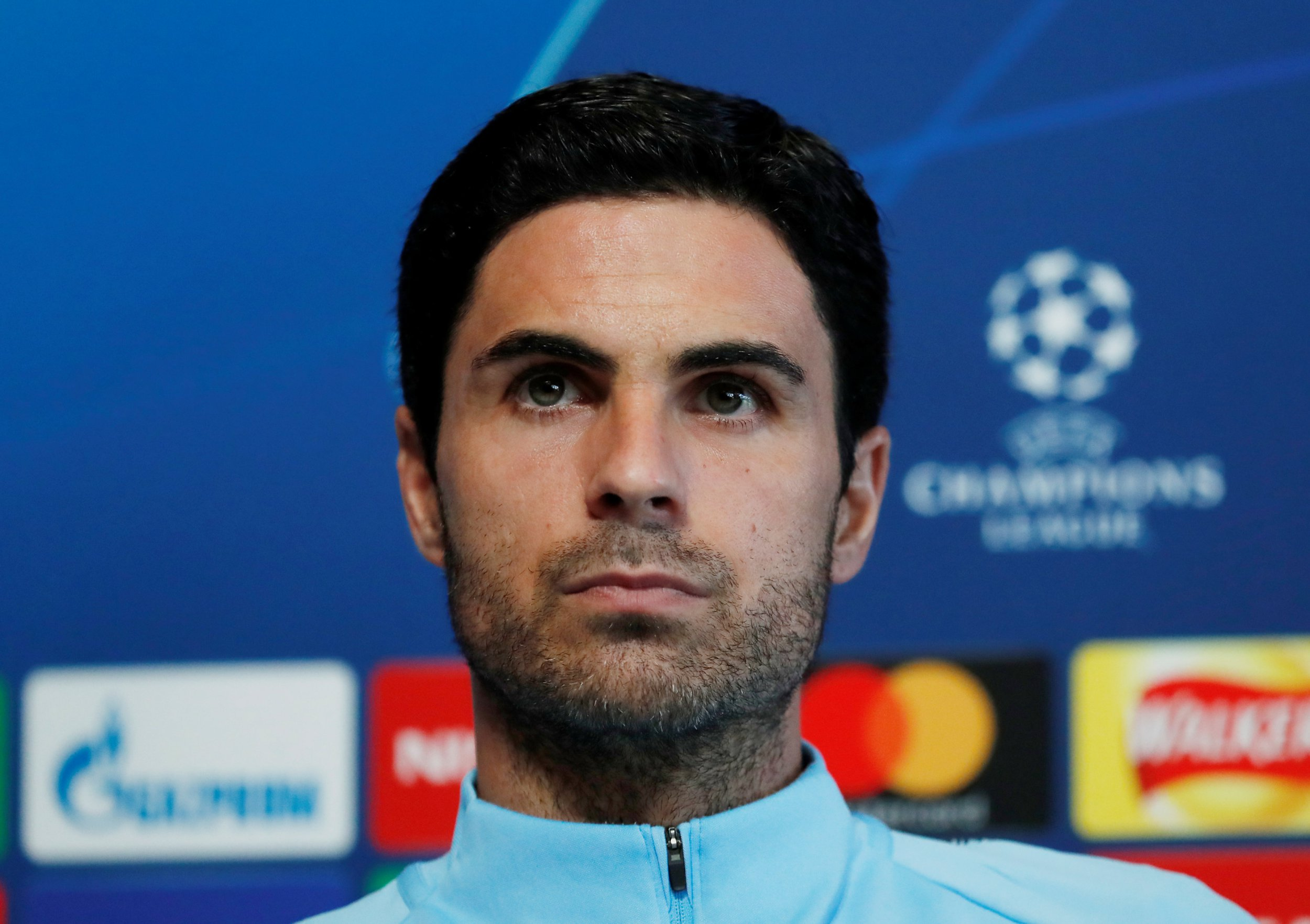 Soccer Football - Champions League - Manchester City Press Conference - Etihad Campus, Manchester, Britain - September 18, 2018 Manchester City co assistant coach Mikel Arteta during the press conference Action Images via Reuters/Andrew Boyers