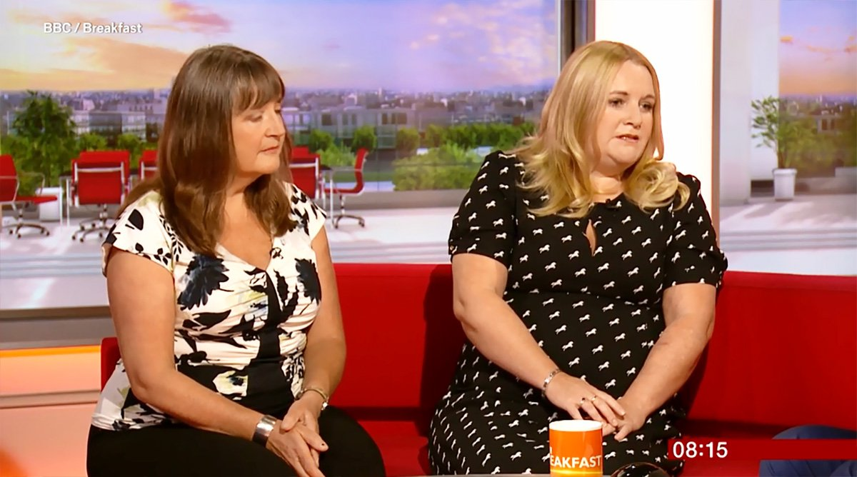 LUCY DIMBLEBY: WHY i SHOWED MY SELF HARM SCARS ON TV Credit: BBC