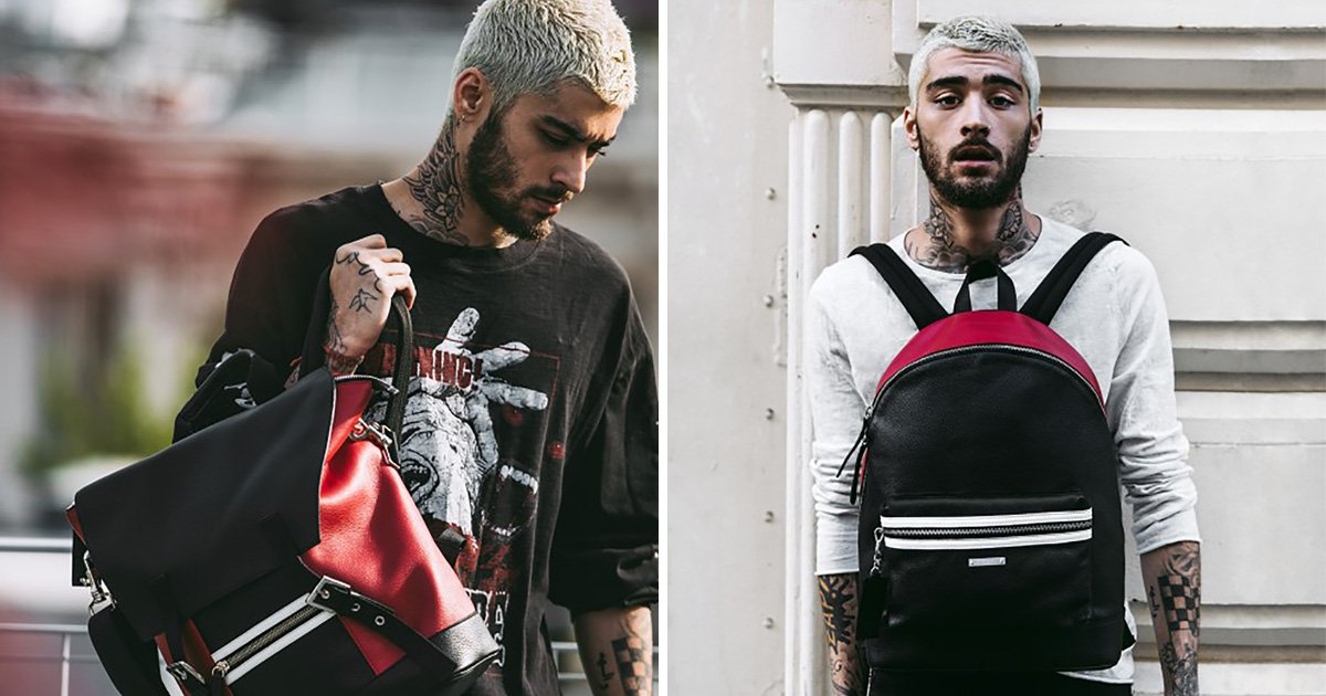 Zayn Malik releases khaki, tartan, and chrome limited edition backpacks