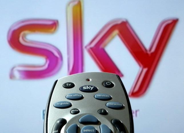 a sky tv remote