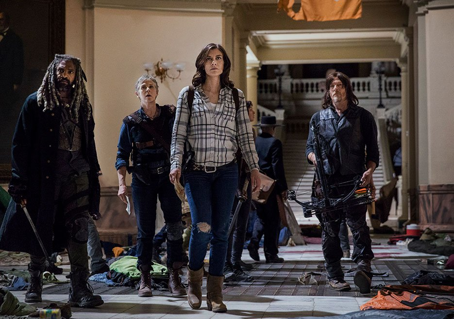 The Walking Dead showrunner on season 9's 'international flavour', Maggie's future and why it isn't a reboot