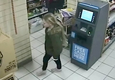 CCTV shows girl, 8, shopping with dad before she was stabbed