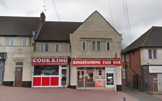 Kingstanding Fish Bar, Kettlehouse Road, Kingstanding.