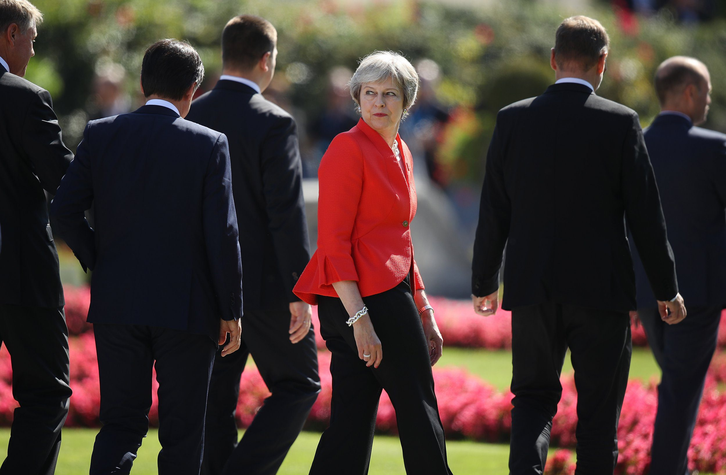 Theresa May told 'don't panic' after disastrous EU meeting over Brexit in Salzburg