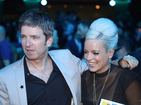 Lily Allen shares hug with Noel Gallagher at Mercury Prize after detailing sex romp with his brother Liam