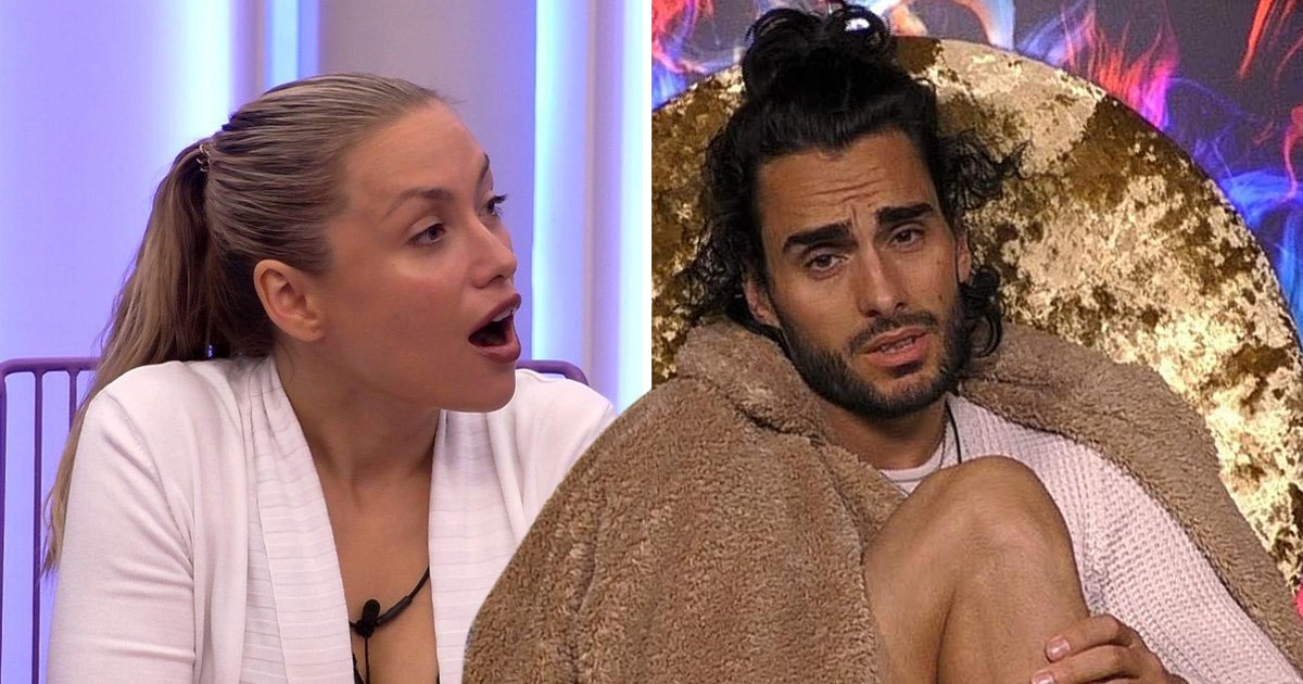 Big Brother stars Kay Lovelle and Lewis Flanagan clear the air before her shock exit