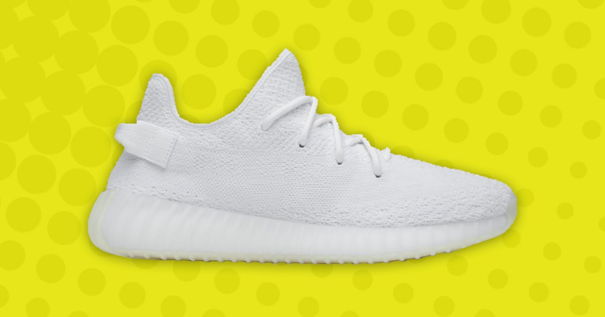 Here's how to get your hands on the Adidas Yeezy Boost 350 V2 Triple White