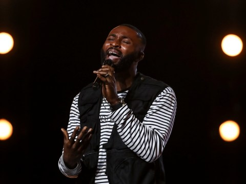 Who is X Factor's J-Sol, and what is the song he wrote for his audition?