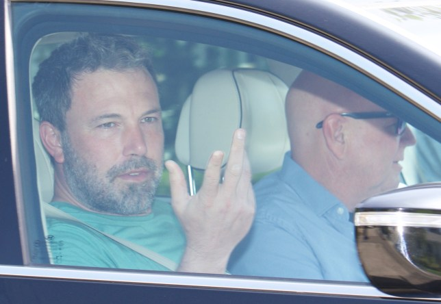 Ben Affleck leaving home going for rehab. Pictured: Ref: SPL5026439 210918 NON-EXCLUSIVE Picture by: Nadine / SplashNews.com Splash News and Pictures Los Angeles: 310-821-2666 New York: 212-619-2666 London: 0207 644 7656 Milan: +39 02 4399 8577 Sydney: +61 02 9240 7700 photodesk@splashnews.com World Rights,