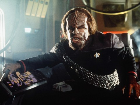 Michael Dorn is glad he's not playing a Klingon in Star Trek: Discovery