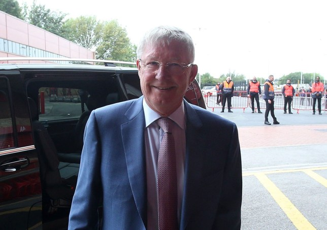 MANCHESTER, ENGLAND - SEPTEMBER 22: (EXCLUSIVE COVERAGE) Former manager Sir Alex Ferguson of Manchester United arrives ahead of the Premier League match between Manchester United and Wolverhampton Wanderers at Old Trafford on September 22, 2018 in Manchester, United Kingdom. (Photo by Matthew Peters/Man Utd via Getty Images)