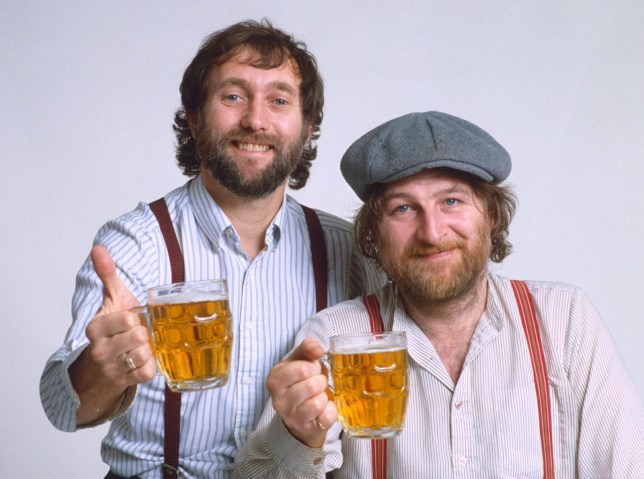 Mandatory Credit: Photo by ITV/REX/Shutterstock (336083z) Chas and Dave - David Peacock and Charles Hodges ITV ARCHIVE