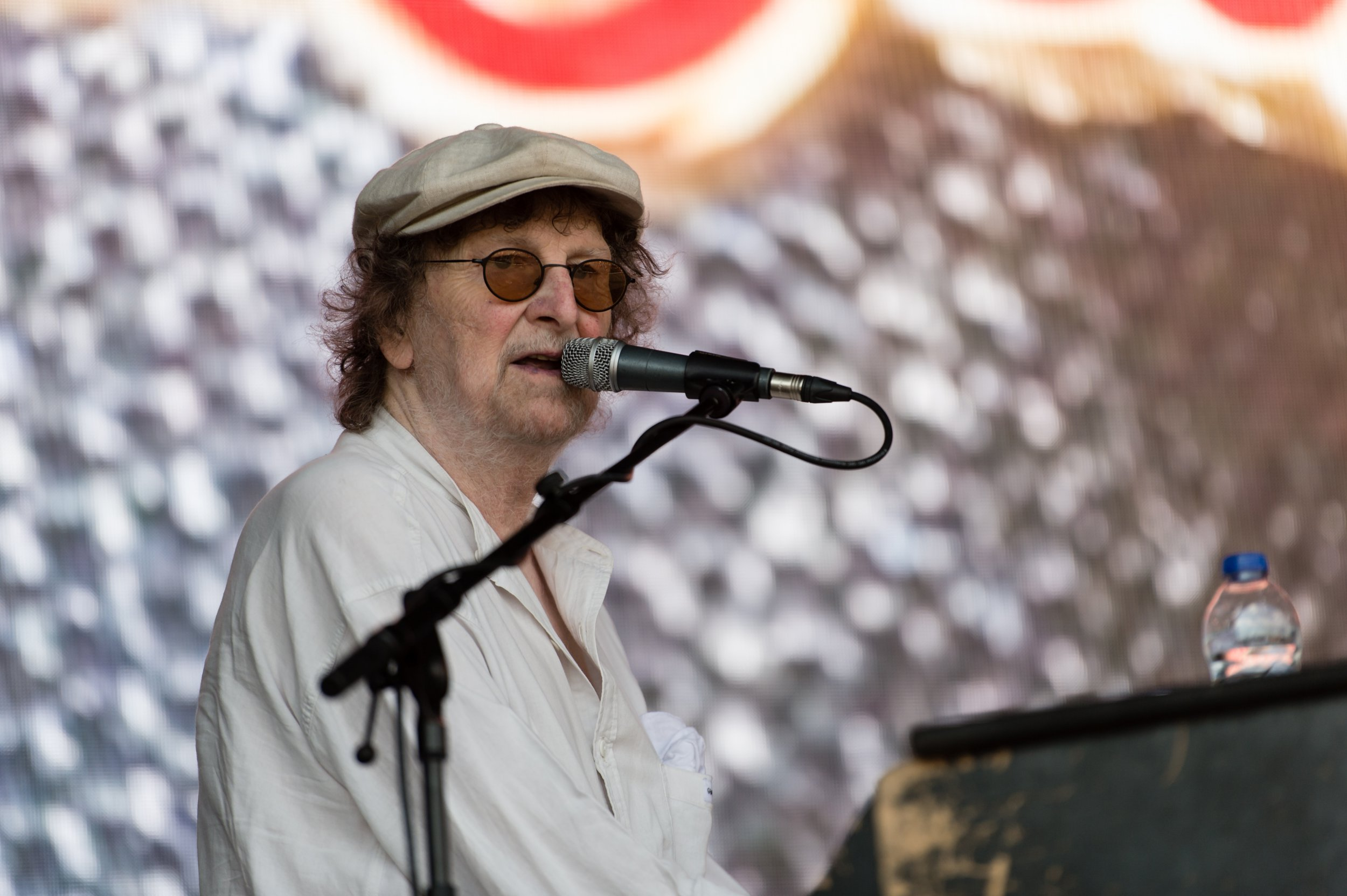 Mandatory Credit: Photo by Richard Isaac/REX/Shutterstock (9745225x) Chas & Dave - Chas Hodges British Summer Time Hyde Park Festival Day 3 in London, UK - 08 Jul 2018